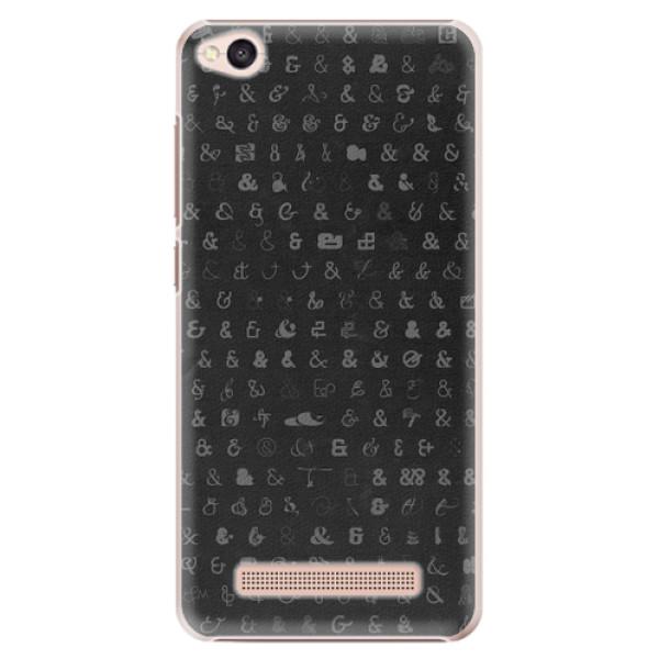 Plastové pouzdro iSaprio - Ampersand 01 - Xiaomi Redmi 4A