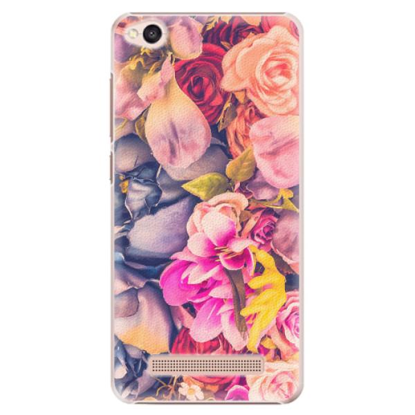 Plastové pouzdro iSaprio - Beauty Flowers - Xiaomi Redmi 4A