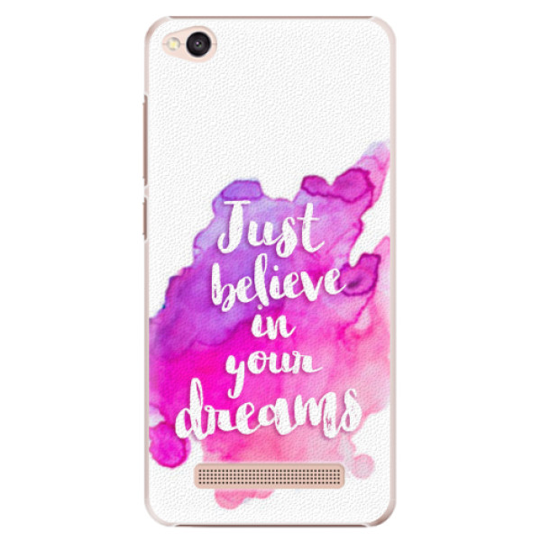 Plastové pouzdro iSaprio - Believe - Xiaomi Redmi 4A