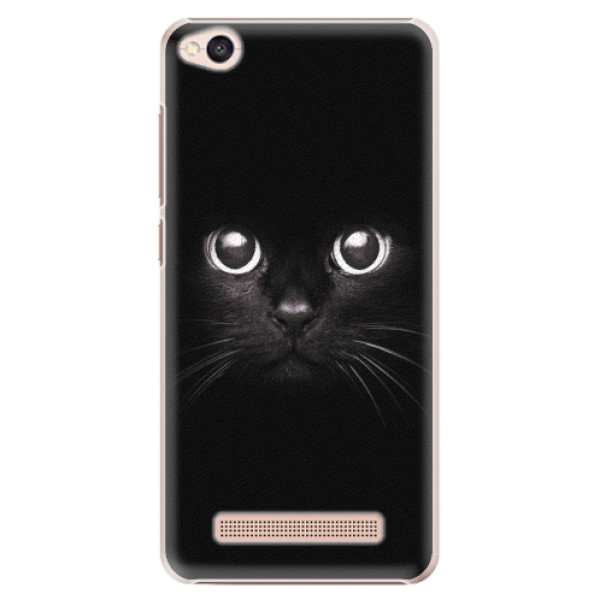 Plastové pouzdro iSaprio - Black Cat - Xiaomi Redmi 4A
