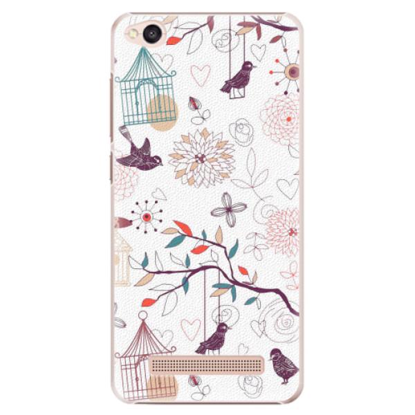 Plastové pouzdro iSaprio - Birds - Xiaomi Redmi 4A