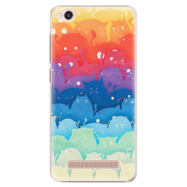 Plastové pouzdro iSaprio - Cats World - Xiaomi Redmi 4A