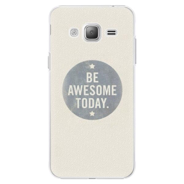 Plastové pouzdro iSaprio - Awesome 02 - Samsung Galaxy J3