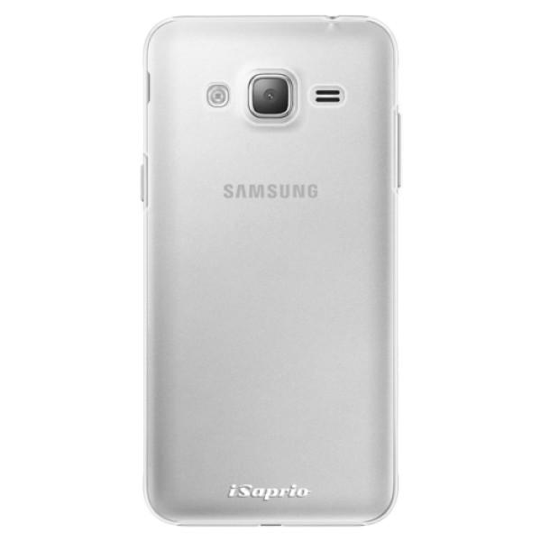 Plastové pouzdro iSaprio - 4Pure - mléčný bez potisku - Samsung Galaxy J3