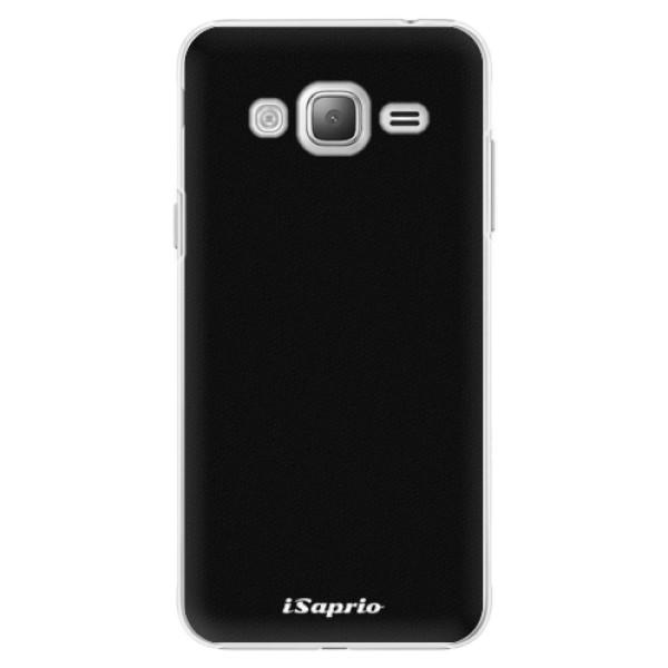 Plastové pouzdro iSaprio - 4Pure - černý - Samsung Galaxy J3