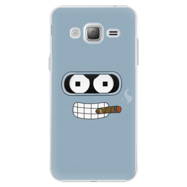 Plastové pouzdro iSaprio - Bender - Samsung Galaxy J3