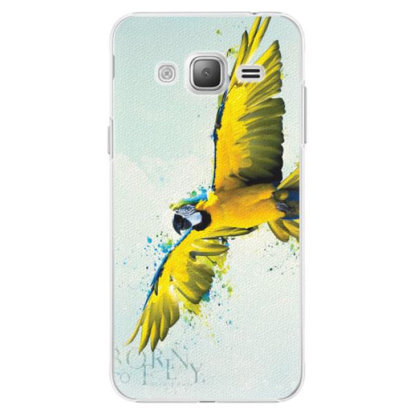 Plastové pouzdro iSaprio - Born to Fly - Samsung Galaxy J3