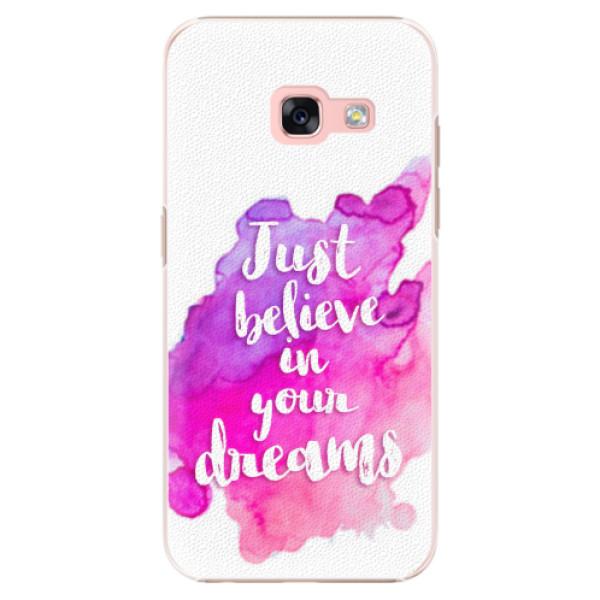Plastové pouzdro iSaprio - Believe - Samsung Galaxy A3 2017