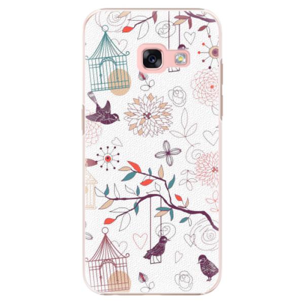 Plastové pouzdro iSaprio - Birds - Samsung Galaxy A3 2017