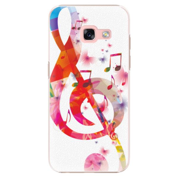 Plastové pouzdro iSaprio - Love Music - Samsung Galaxy A3 2017
