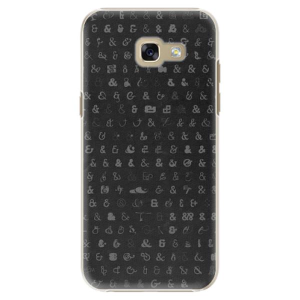 Plastové pouzdro iSaprio - Ampersand 01 - Samsung Galaxy A5 2017