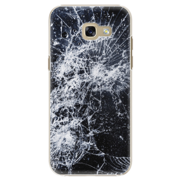 Plastové pouzdro iSaprio - Cracked - Samsung Galaxy A5 2017