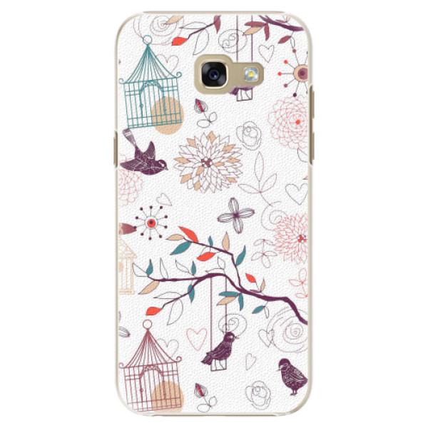 Plastové pouzdro iSaprio - Birds - Samsung Galaxy A5 2017