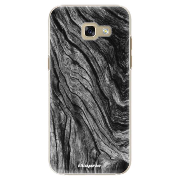Plastové pouzdro iSaprio - Burned Wood - Samsung Galaxy A5 2017