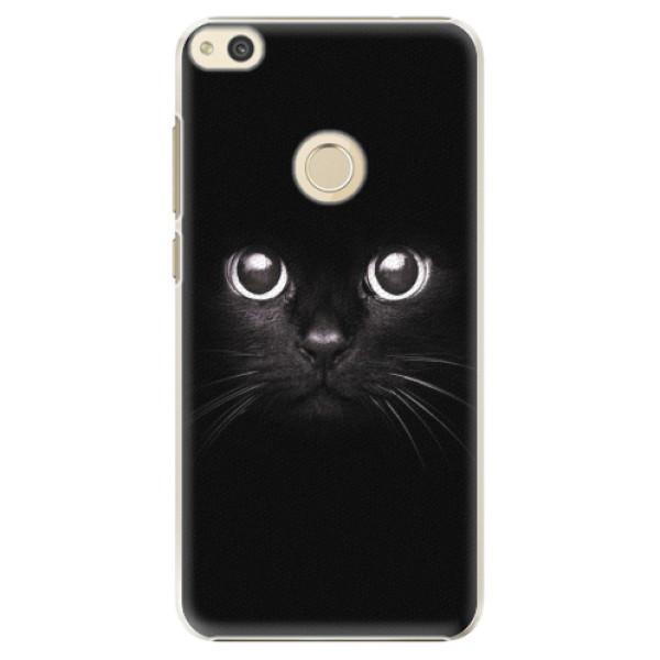 Plastové pouzdro iSaprio - Black Cat - Huawei P8 Lite 2017