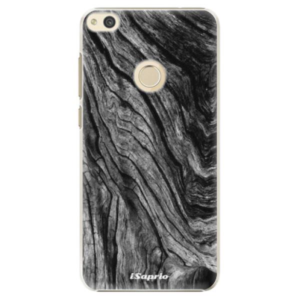 Plastové pouzdro iSaprio - Burned Wood - Huawei P8 Lite 2017