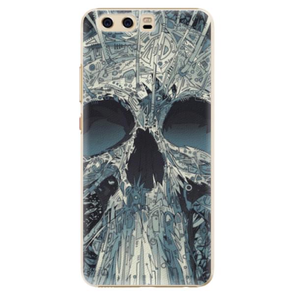 Plastové pouzdro iSaprio - Abstract Skull - Huawei P10