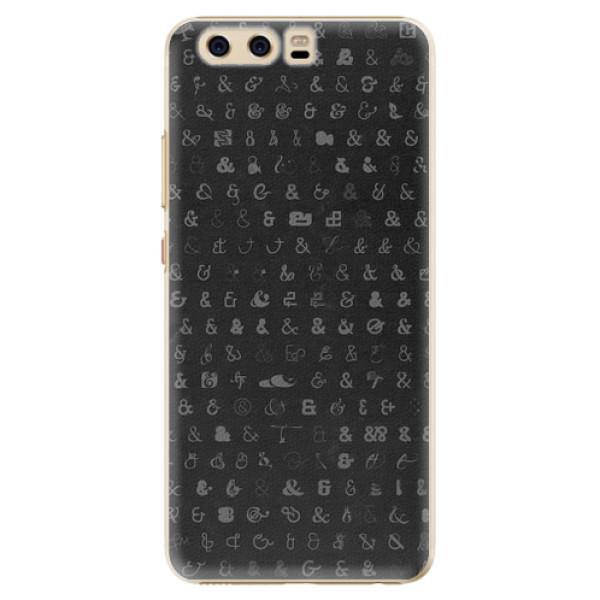 Plastové pouzdro iSaprio - Ampersand 01 - Huawei P10
