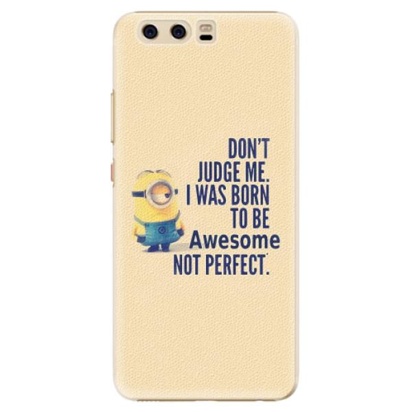 Plastové pouzdro iSaprio - Be Awesome - Huawei P10