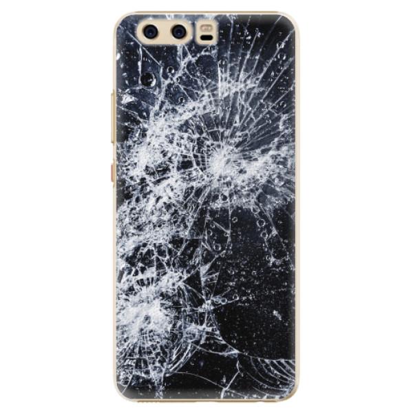 Plastové pouzdro iSaprio - Cracked - Huawei P10