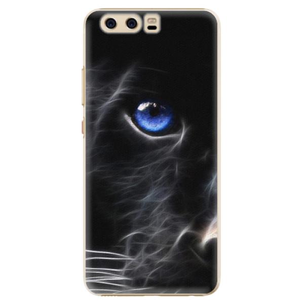Plastové pouzdro iSaprio - Black Puma - Huawei P10