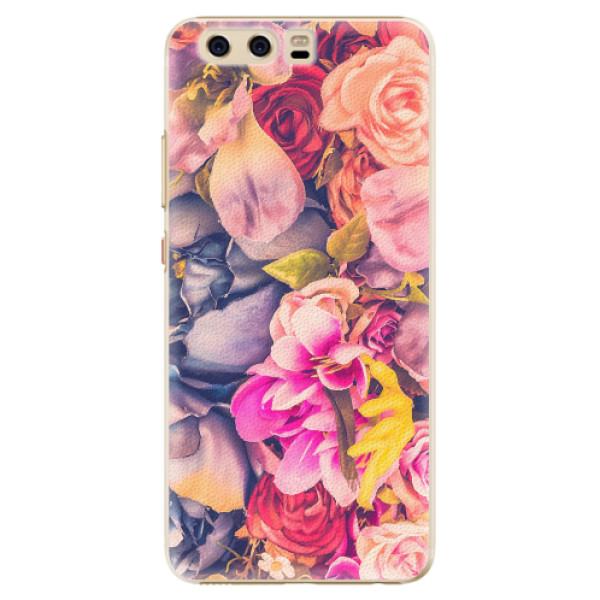 Plastové pouzdro iSaprio - Beauty Flowers - Huawei P10