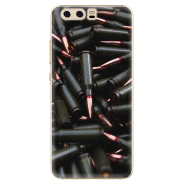 Plastové pouzdro iSaprio - Black Bullet - Huawei P10