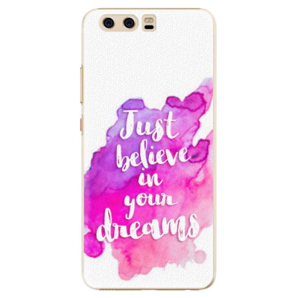 Plastové pouzdro iSaprio - Believe - Huawei P10