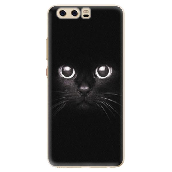 Plastové pouzdro iSaprio - Black Cat - Huawei P10