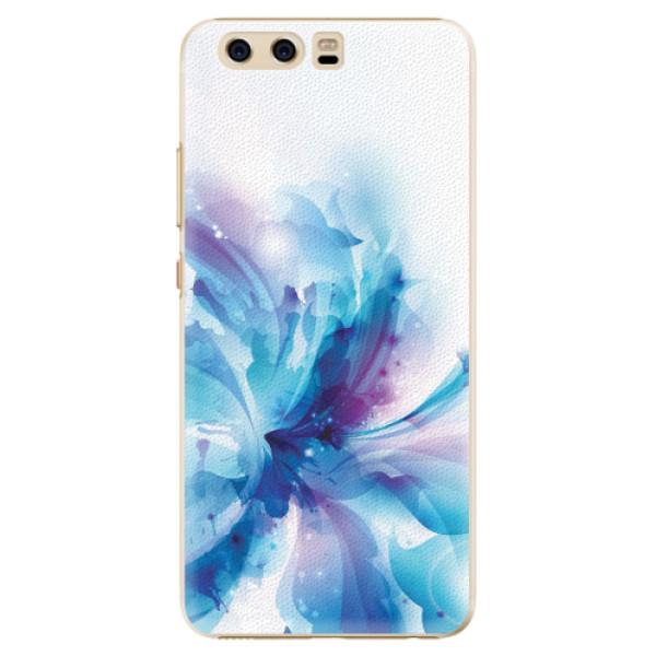 Plastové pouzdro iSaprio - Abstract Flower - Huawei P10