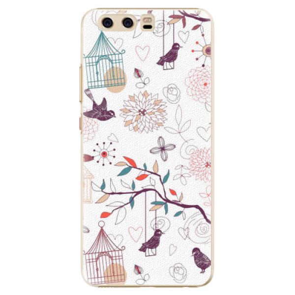 Plastové pouzdro iSaprio - Birds - Huawei P10