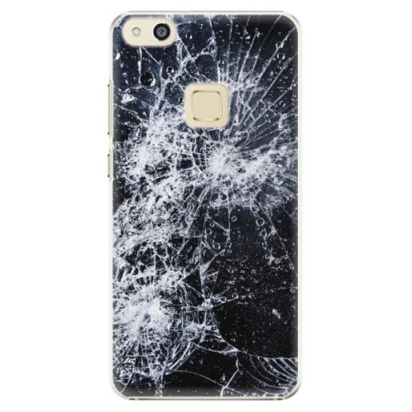 Plastové pouzdro iSaprio - Cracked - Huawei P10 Lite