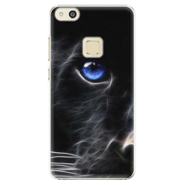Plastové pouzdro iSaprio - Black Puma - Huawei P10 Lite