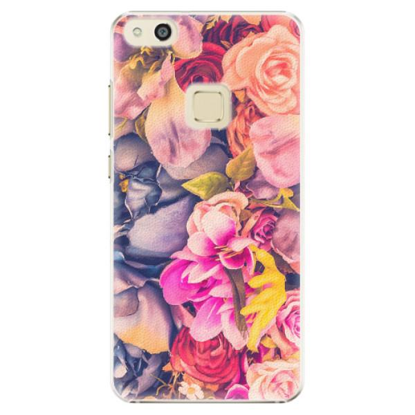 Plastové pouzdro iSaprio - Beauty Flowers - Huawei P10 Lite