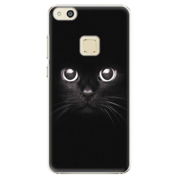 Plastové pouzdro iSaprio - Black Cat - Huawei P10 Lite