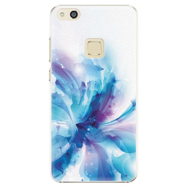 Plastové pouzdro iSaprio - Abstract Flower - Huawei P10 Lite