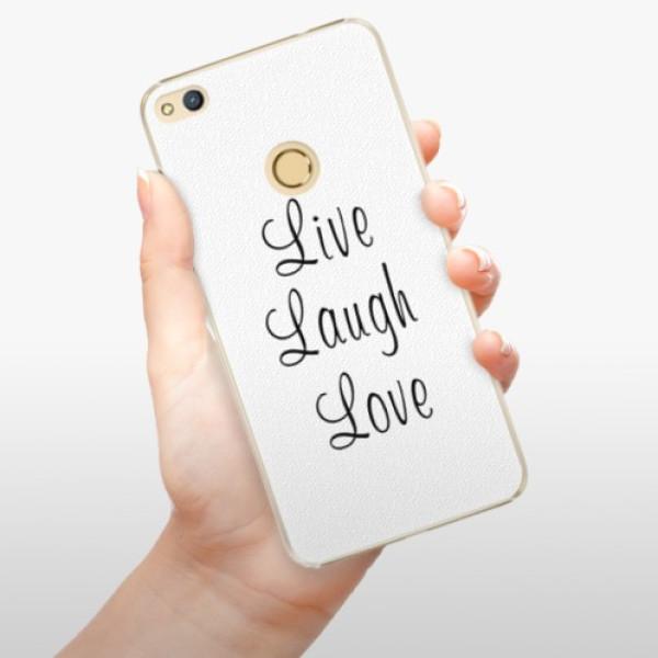 Plastové pouzdro iSaprio - Live Laugh Love - Huawei Honor 8 Lite
