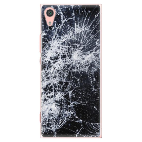 Plastové pouzdro iSaprio - Cracked - Sony Xperia XA1