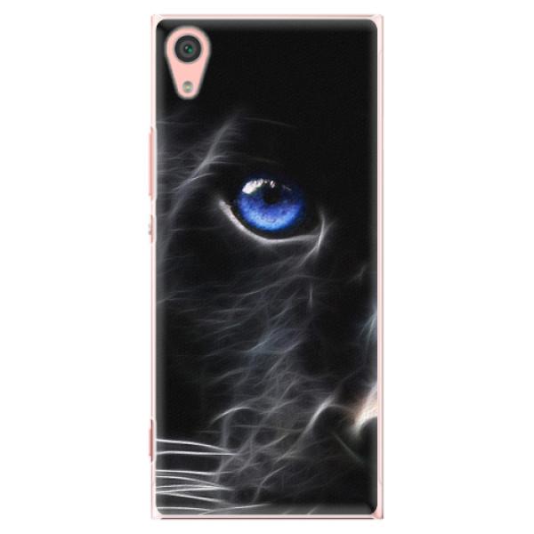 Plastové pouzdro iSaprio - Black Puma - Sony Xperia XA1