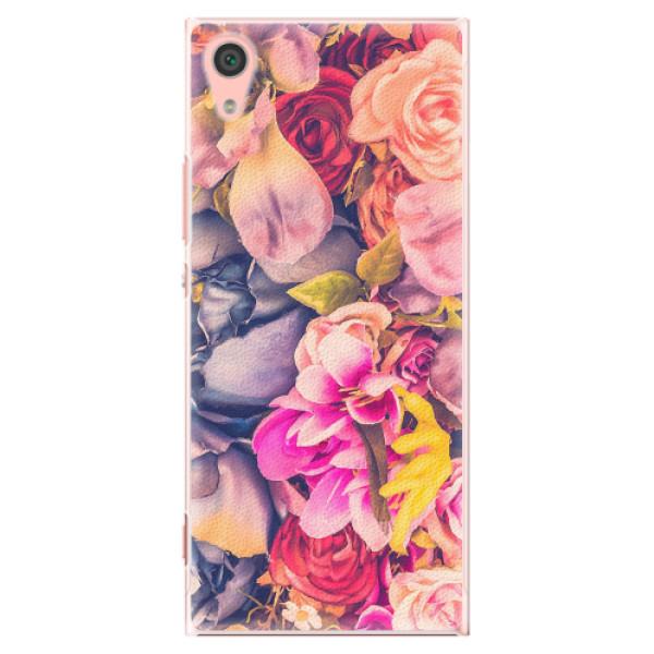 Plastové pouzdro iSaprio - Beauty Flowers - Sony Xperia XA1