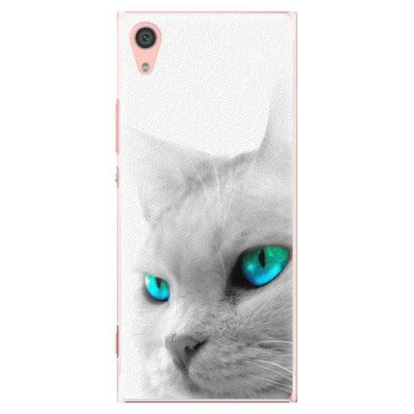 Plastové pouzdro iSaprio - Cats Eyes - Sony Xperia XA1