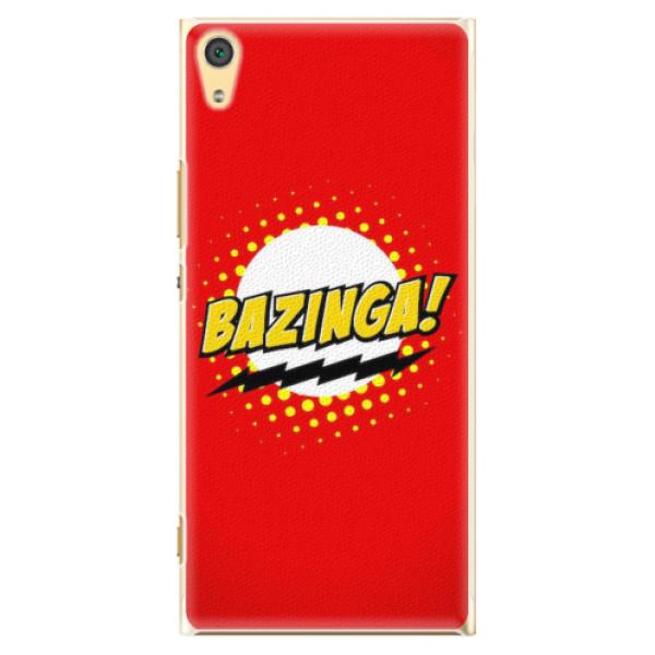 Plastové pouzdro iSaprio - Bazinga 01 - Sony Xperia XA1 Ultra