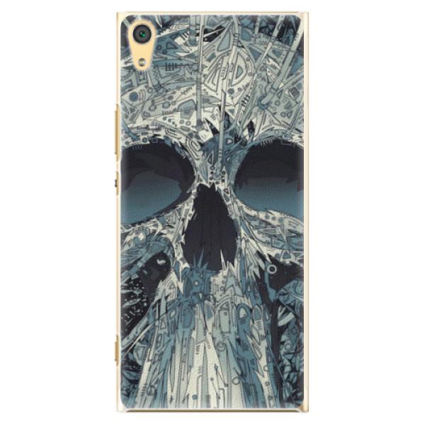 Plastové pouzdro iSaprio - Abstract Skull - Sony Xperia XA1 Ultra