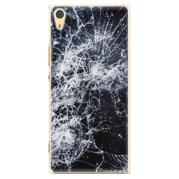 Plastové pouzdro iSaprio - Cracked - Sony Xperia XA1 Ultra