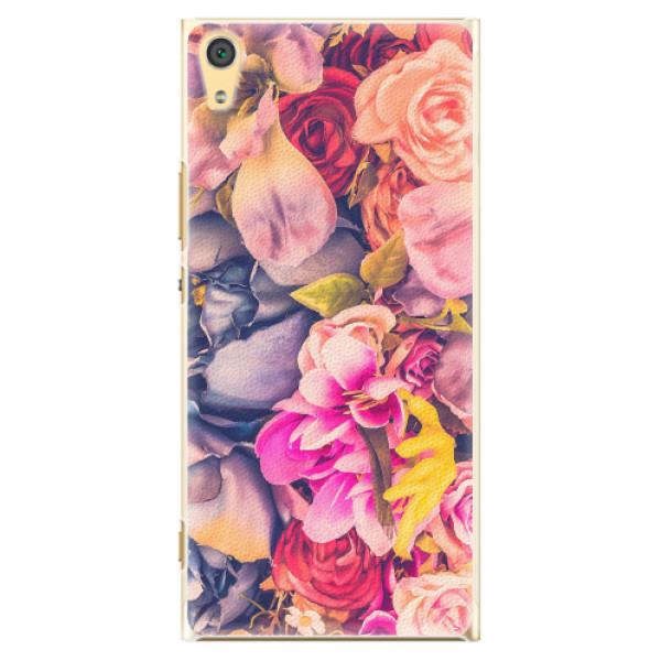 Plastové pouzdro iSaprio - Beauty Flowers - Sony Xperia XA1 Ultra