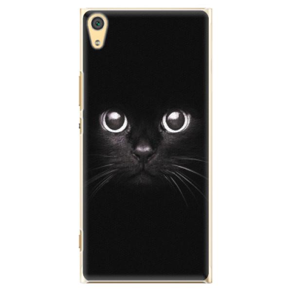 Plastové pouzdro iSaprio - Black Cat - Sony Xperia XA1 Ultra