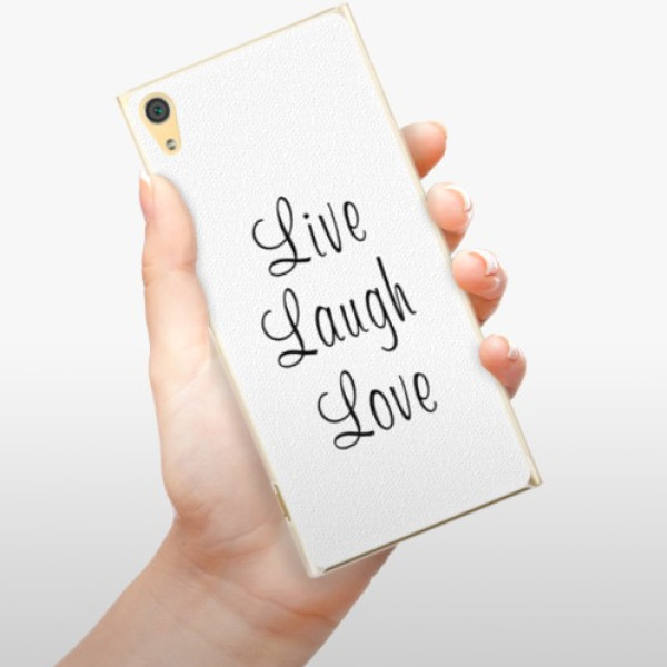 Plastové pouzdro iSaprio - Live Laugh Love - Sony Xperia XA1 Ultra