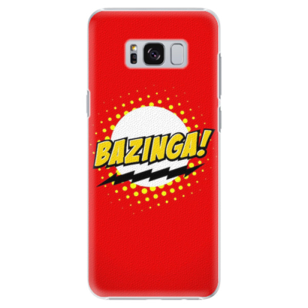 Plastové pouzdro iSaprio - Bazinga 01 - Samsung Galaxy S8