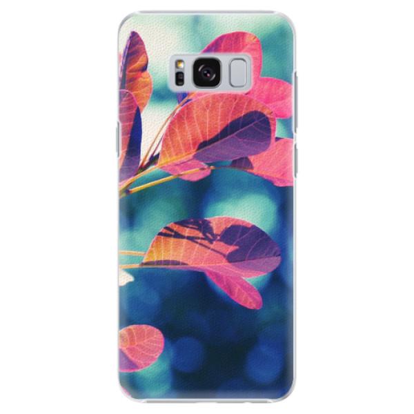 Plastové pouzdro iSaprio - Autumn 01 - Samsung Galaxy S8