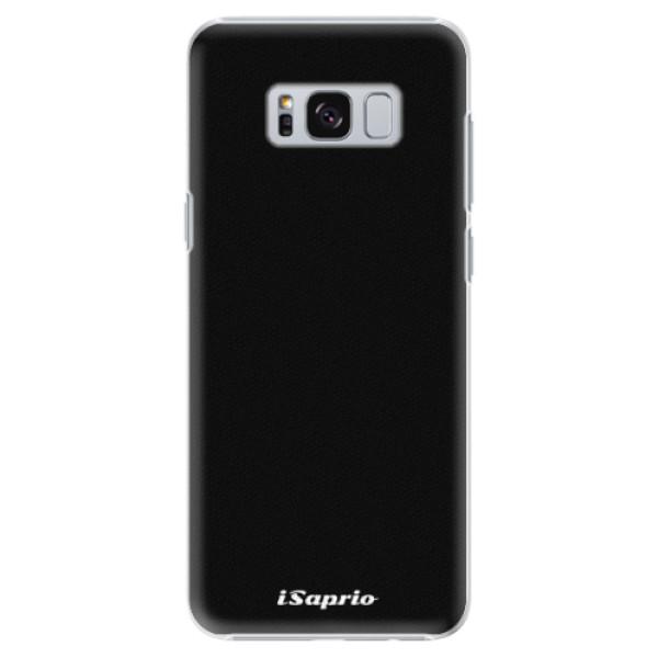 Plastové pouzdro iSaprio - 4Pure - černý - Samsung Galaxy S8